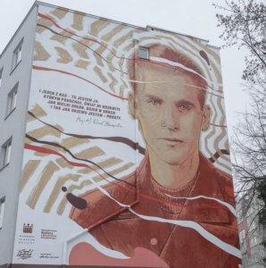 KK. Baczyński- mural